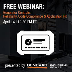 South Shore Generators - Generac Industrial Webinar Series