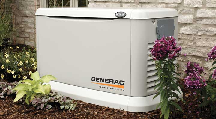 South Shore Generator Generac 6237 portable generator