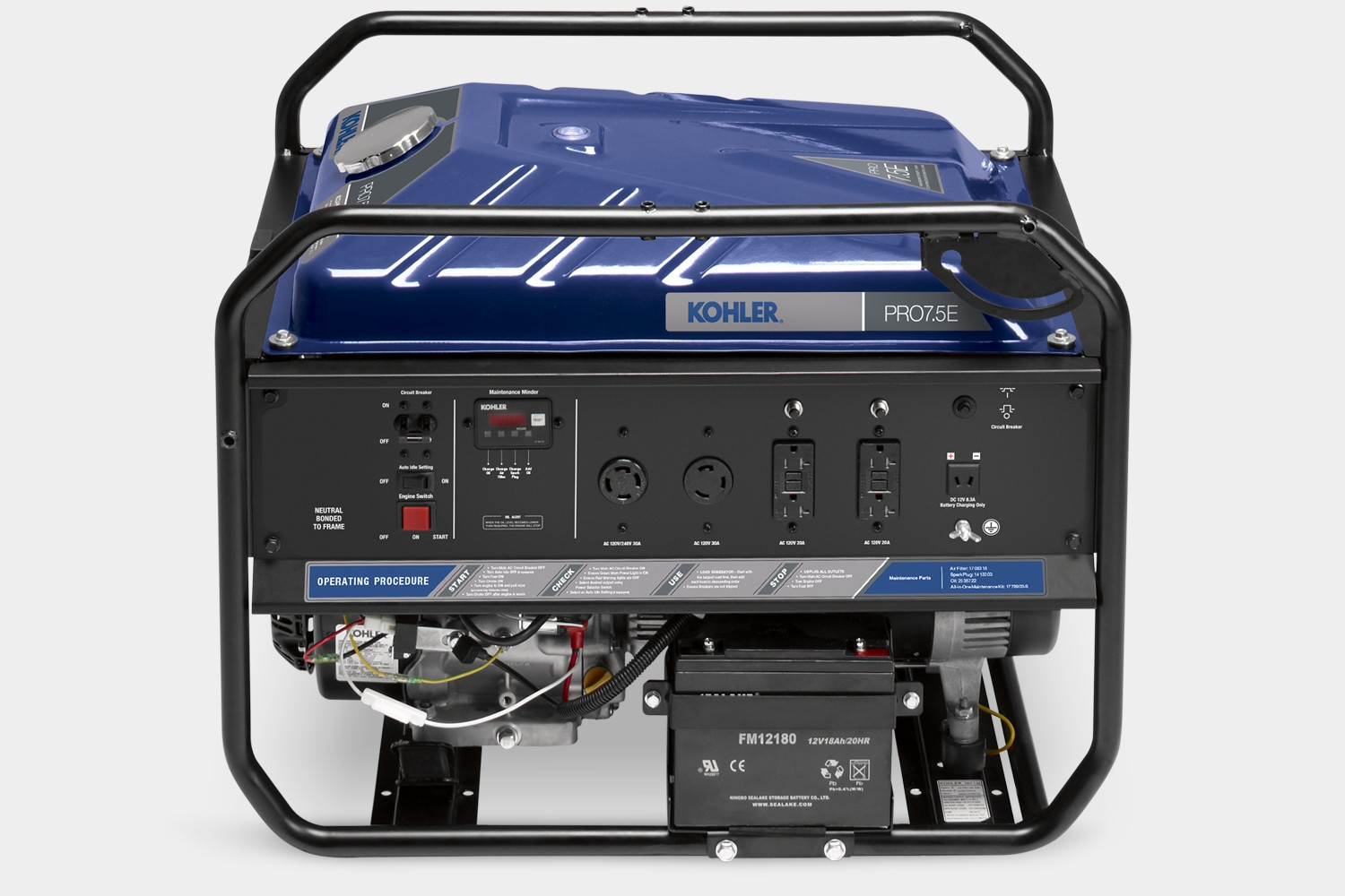 South Shore Generator - Kohler Pro7.5e portable generator