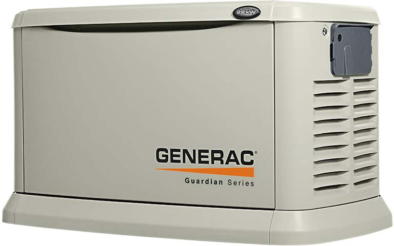 South Shore Generator -  Generac 22,000 Watt Air Cooled Standby Generator